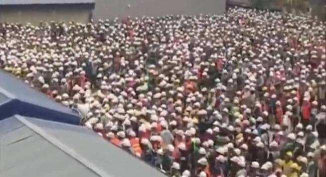 韩国保安殴打三星越南工厂工人 引发千人群殴(图)
