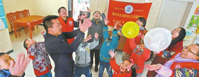 点燃善良的灯芯 赣州章贡区志愿服务工作纪实