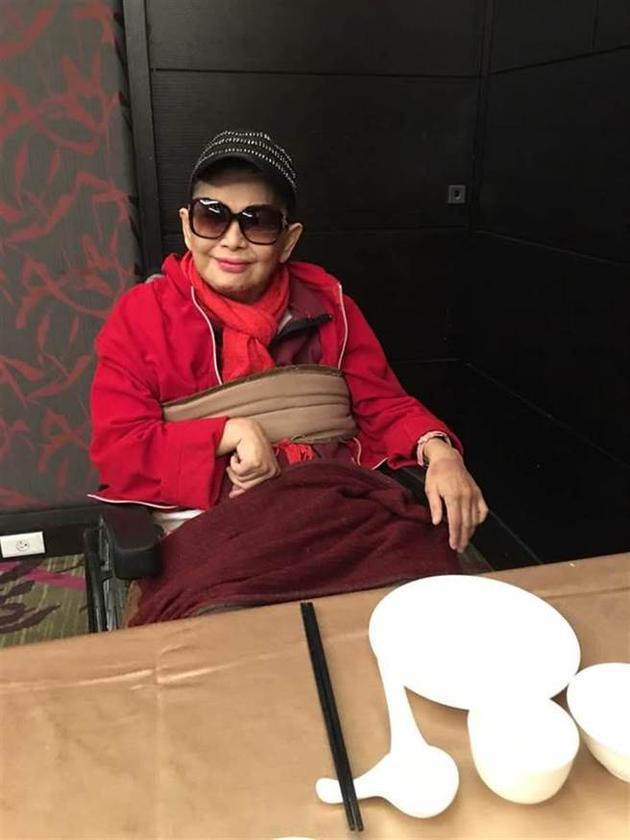台湾女星陈丽丽突发性脑溢血病逝 享年66岁