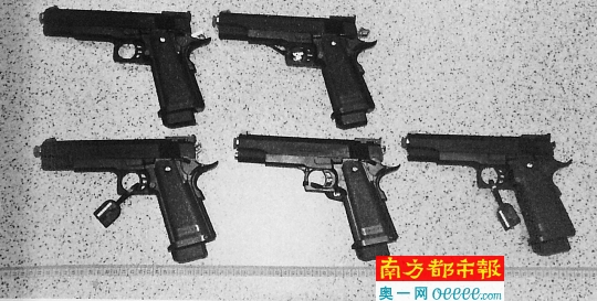 男子买34支玩具枪获刑8年 最高法首次发回重审