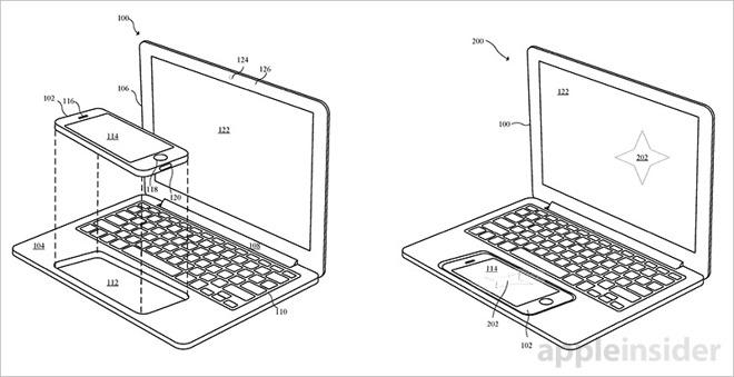 苹果新专利曝光:iPhone和iPad秒变笔记本-科技传媒网