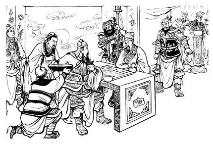 历史事简件漫画简笔画