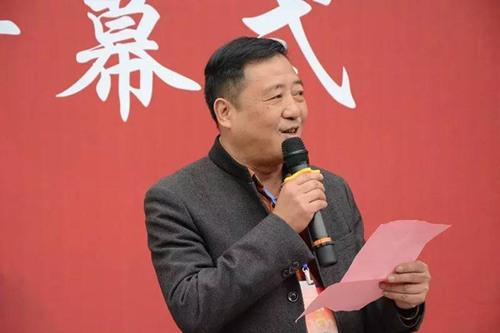 陶艺家代表、高级工艺美术师汤建林先生致辞