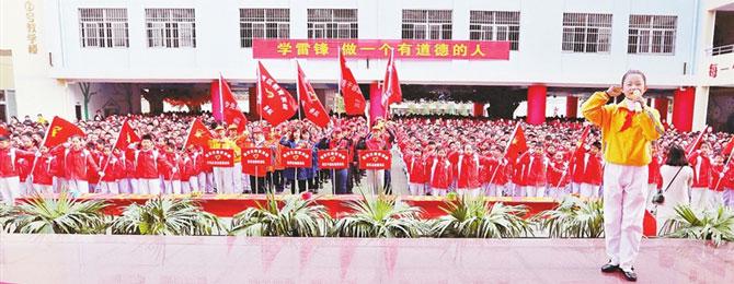 赣州章贡区全方位加强道德建设 培育文明新风尚
