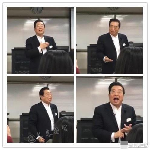 78岁李双江登台授课 精神矍铄表情生动(图)
