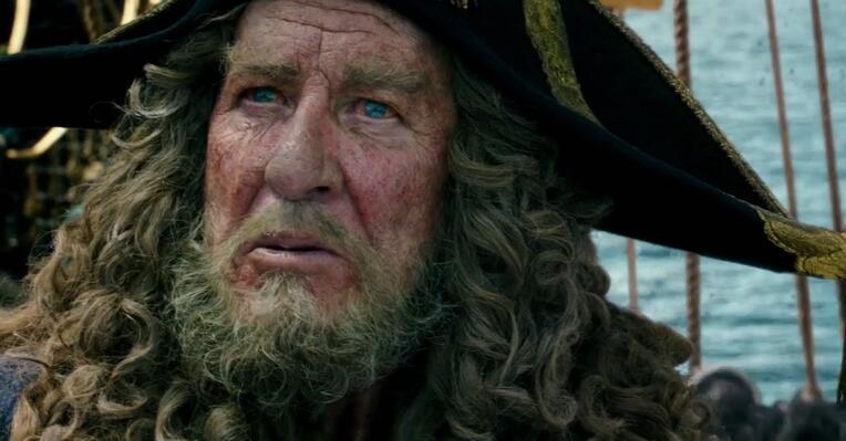 《加勒比海盗5》新预告布鲁姆再亮相 时隔十年回归