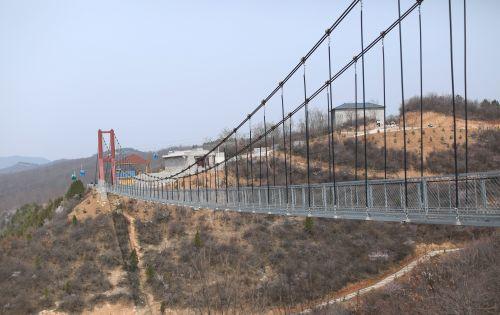 高空玻璃桥 你敢挑战吗?