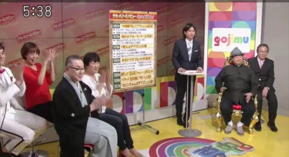 65岁洪金宝日本录节目 大方承认看过成人片