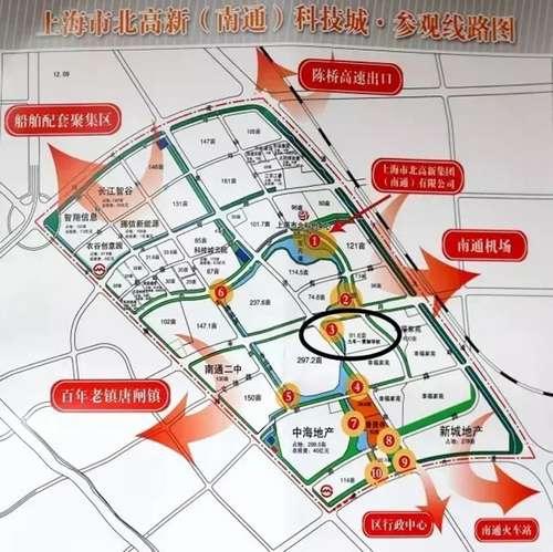 链接:学校位置 启秀市北学校位于港闸区上海市北高新(南通)科技城内