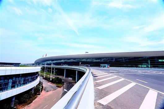 武汉天河机场T3航站楼投用在即 系华中最大航站楼