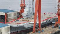 大国重器!首艘国产航母下水