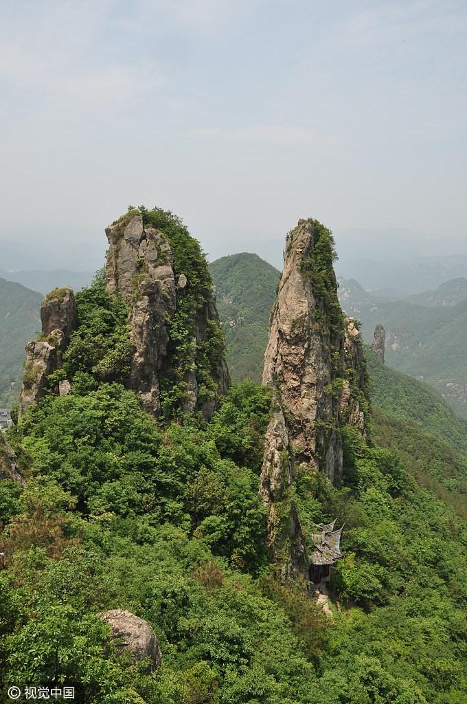 浙江省:仙华山风景名胜区