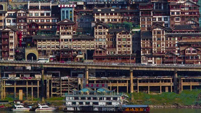 重庆吊脚楼:依山而势 临江而栖