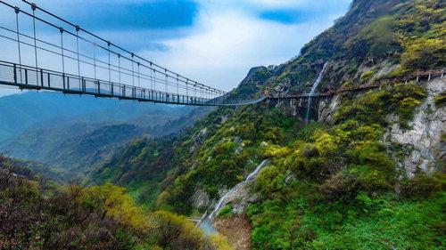 2017方城七峰山生态旅游区旅游推介会在郑州举办