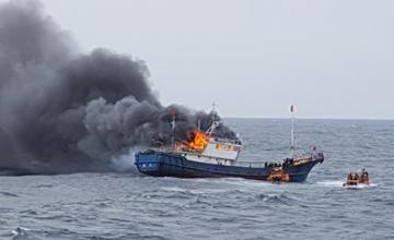 这名船长渔船遭韩攻击 船员死3人 自己被判入狱1年半