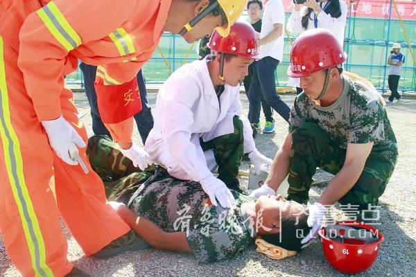 聊城开展生产安全事故应急救援演练