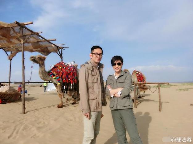 陈法蓉晒《卫斯理》拍摄现场 大漠戈壁拍摄环境艰苦