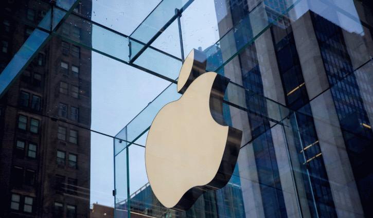 科技股在下跌一周后集体反弹苹果股价上涨近3%