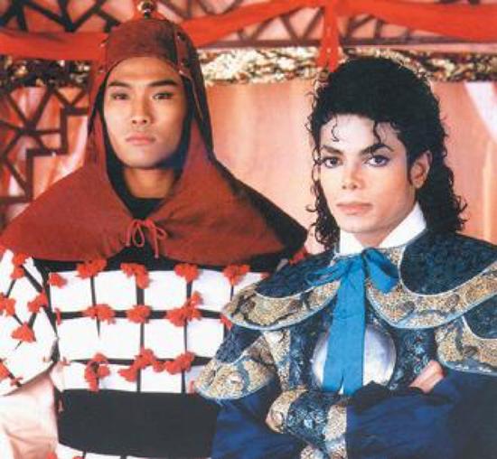 杰克逊与杜德伟合影被曝 疑似早年节目组剪掉片段