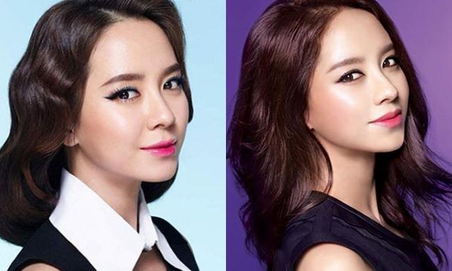现在韩国最流行的是染唇妆,最佳的代表人物就是素颜一样美丽的女神宋