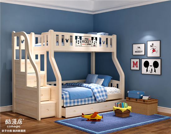 酷漫居说:孩子的房间一定要有趣味、有故事