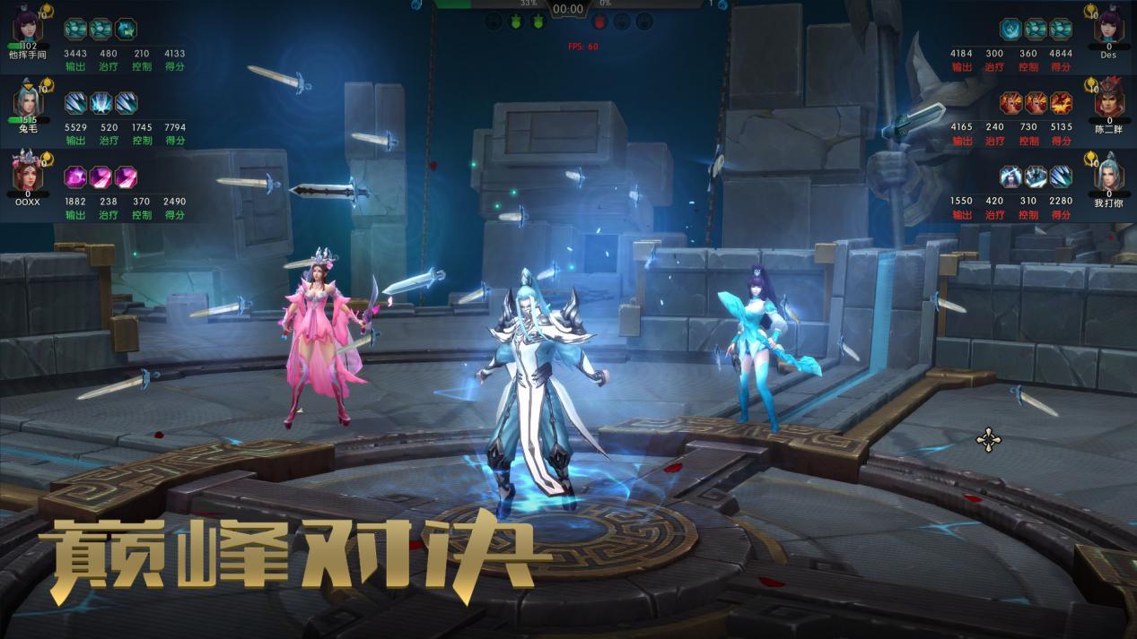 《巅峰对决》游戏的成功研发,也是中国古风类竞技游戏的一个新的里程
