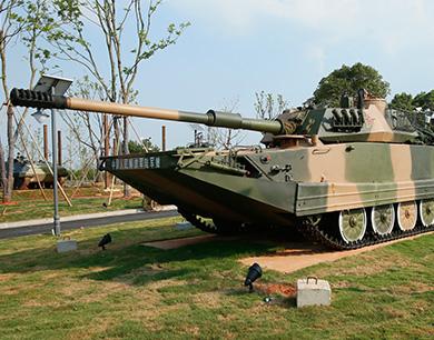 飞机、战车、坦克亮相南昌军事装备展示中心