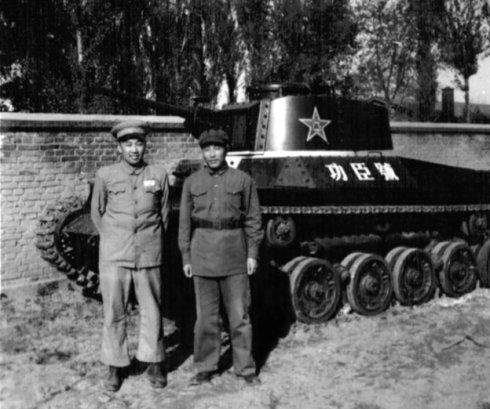"""我军第一辆坦克:从日本人的修理厂里""""抢""""来"""