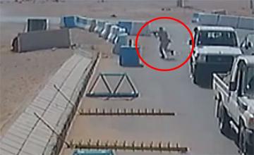 约旦军人射杀3美国士兵画面首次曝光