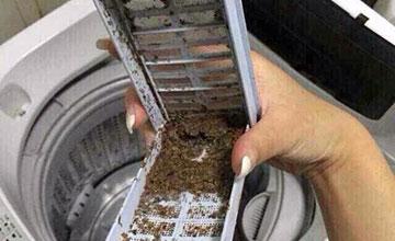 洗衣机里面加点它 不拆不刷细菌全消失