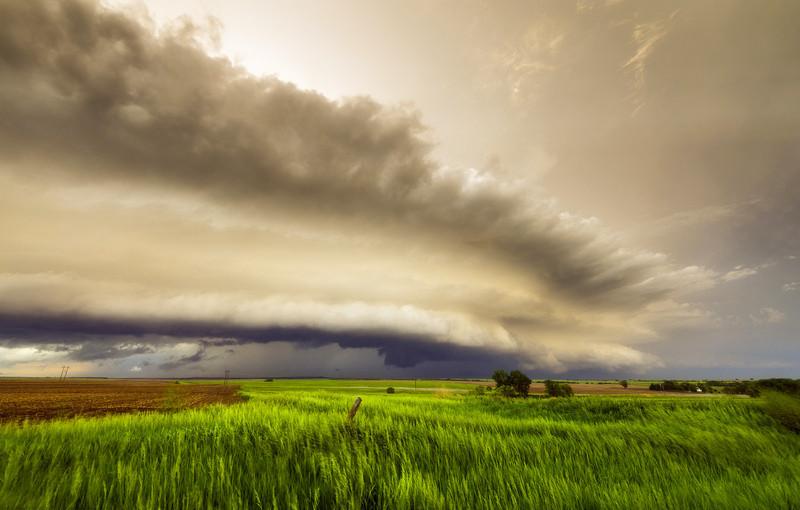 英男子追逐风暴邂逅爱情
