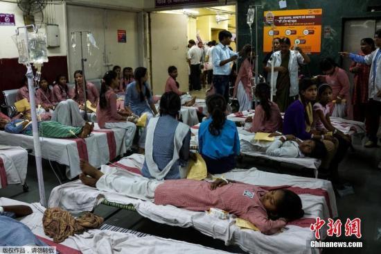 外媒:印度一家医院供氧设备中断 致30名儿童死
