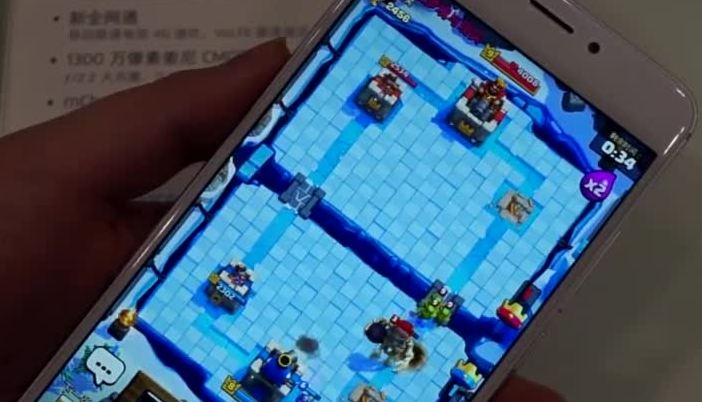 视频-魅族魅蓝Note5评测:皇室战争