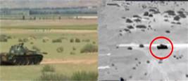 """导弹画面:解放军反坦克导弹首次公开摧毁""""敌目标"""""""