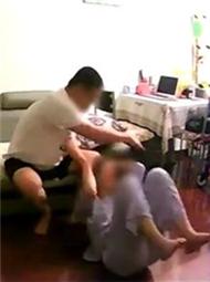 女子偷拍下前夫施暴过程