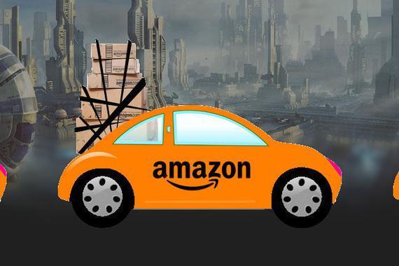 """亚马逊启用""""无人驾驶""""智能供应链"""