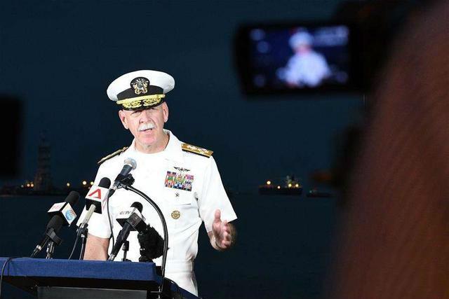 航空母舰--美海军司令就撞船事件强硬表态 金一南:呵呵祝好运