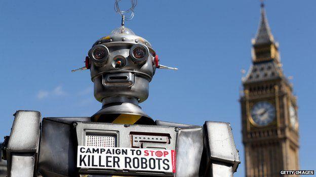 马斯克等逾百名专家致函联合国 呼吁禁用杀人机器人