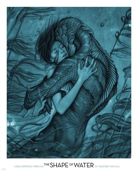 《水形物语》:哑女水怪跨种族恋爱 隐喻社会异类孤独