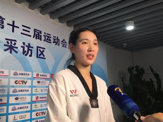 加时绝杀!郑姝音蝉联全运跆拳道冠军