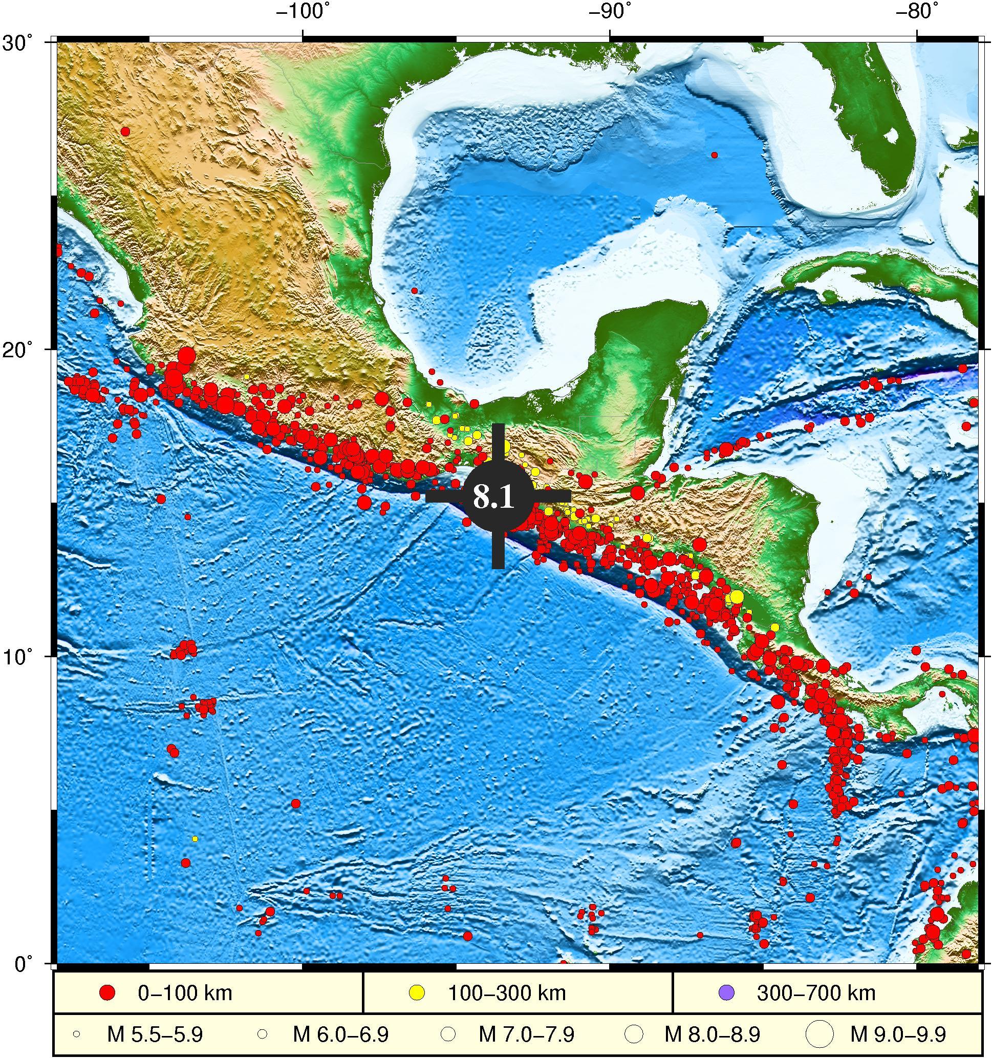 国家海洋局:墨西哥地震已引发海啸