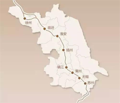 国庆专辑:细数京杭大运河上的江苏城市
