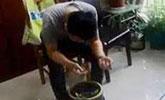 男子为躲避交警 逃跑途中掉进1米深粪坑