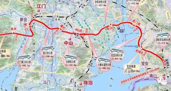 深圳到湛江只需三小时 深茂铁路这段年底开工