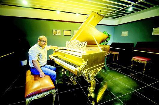 人最多的1.76复古传奇工科博士砸数千万建钢琴博物馆_最贵的800万一台
