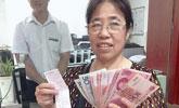 女子44年前存银行1200元 今取2684.04元