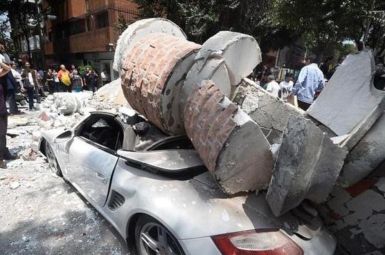 墨西哥中部发生7.1级地震