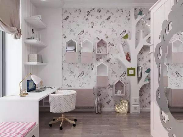 满足你所有美好幻想的儿童房,安全简单又有趣