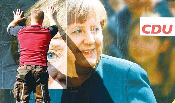 德国大选投票开始:默克尔胜券稳操 组阁或旷日持久