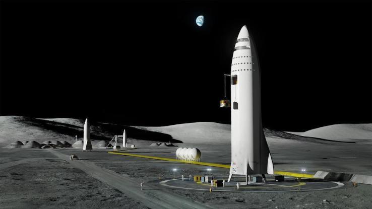 马斯克首次呼吁建立月球基地 或即将公布月球计划-科技传媒网